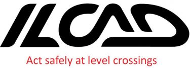 ILCAD safety at level crossings logo