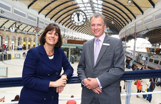 22 million pound transformation of Newcastle Station continues
