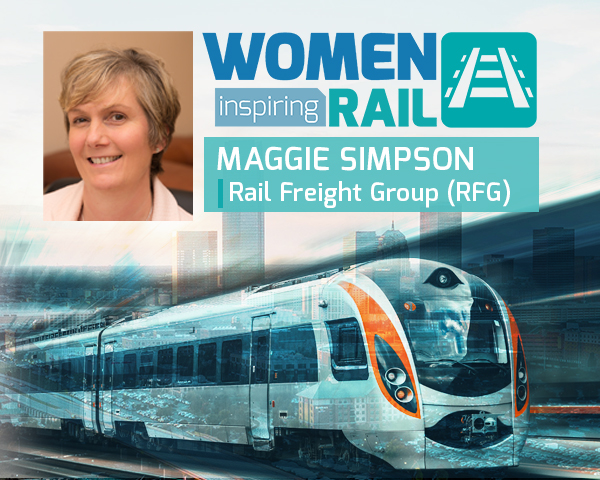Women Inspiring Rail: A Q&A with Maggie Simpson, Rail Freight Group