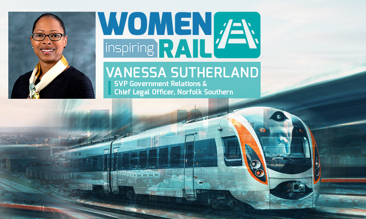 Women Inspiring Rail: A Q&A with Vanessa Sutherland, Norfolk Southern