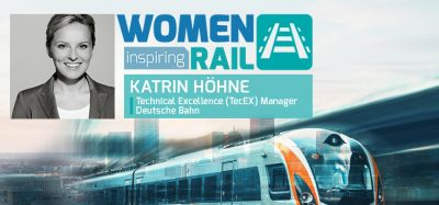 Women Inspiring Rail: A Q&A with Katrin Höhne, TecEX Manager, DB