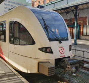 ATO test train transports passengers for the first time
