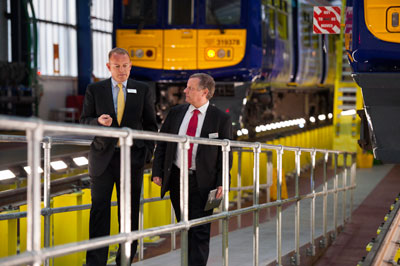 Allerton Depot opens following upgrade to maintain electric trains