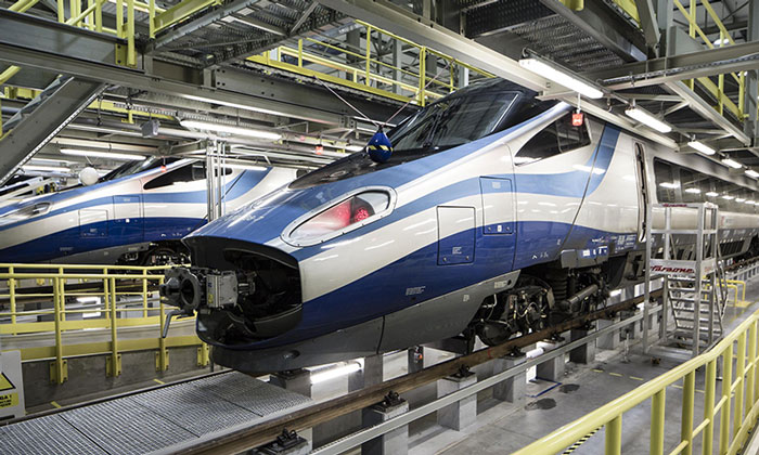Alstom trains