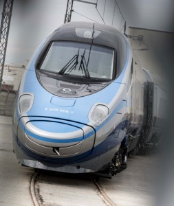 1st high-speed train in Poland Alstom's Pendolino fleet starts commercial service on the Polish network