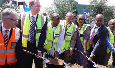 Alstom JV begins construction of South African suburban trains manufacturing site