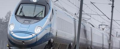 Alstom Pendolino high speed train