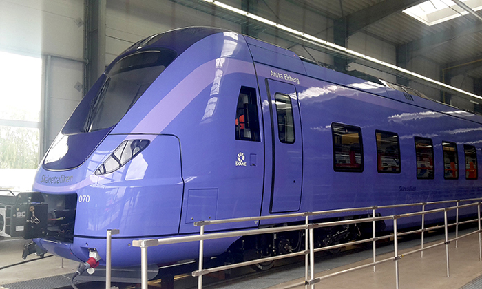 Eight-year rolling stock maintenance contract signed in Sweden