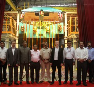 Production of India's first electric locomotive manufacturing facility begins