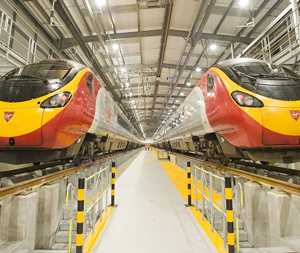 Alstom to carry out Virgin Trains Pendolino repainting work