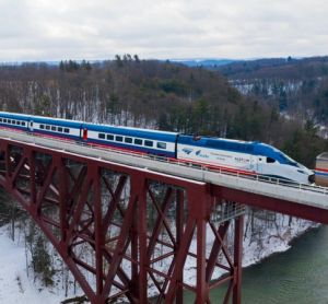 Amtrak begins high-speed testing of first Acela trainset