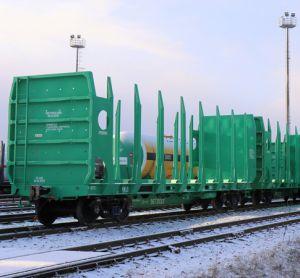 Arkhbum signs contract with UWC for delivery of timber transportation cars
