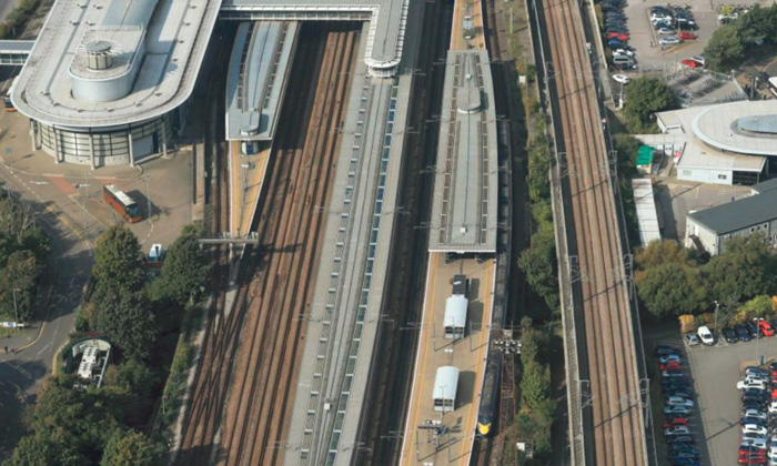 Work begins at Ashford International to welcome e320 Eurostar trains