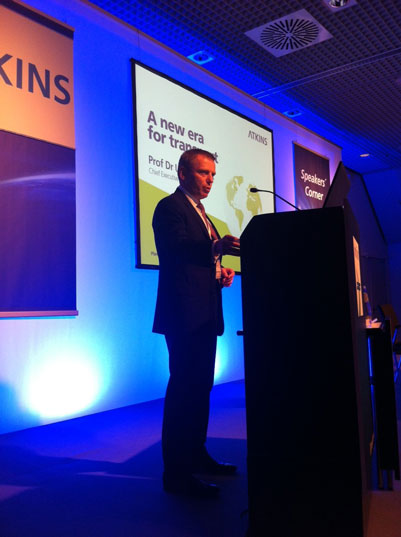 Atkins' chief executive officer, Prof Dr Uwe Krueger