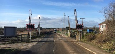 Level crossing improvement work begins in Leicestershire, UK