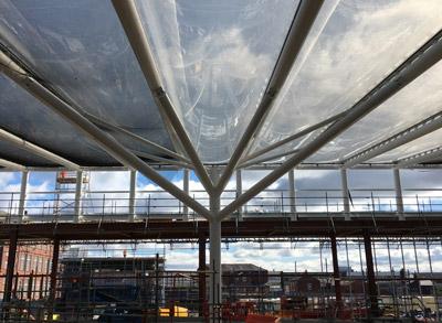 Bolton Interchange receives new high-tech roof