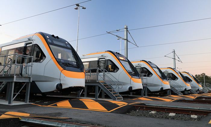 Bombardier's New Generation Rollingstock enter passenger service in Queensland, Australia