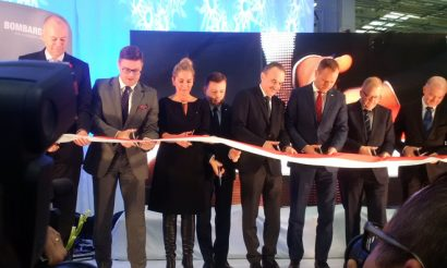 Bombardier production hall opens in Poland supporting manufacture of DB's ICE4 train