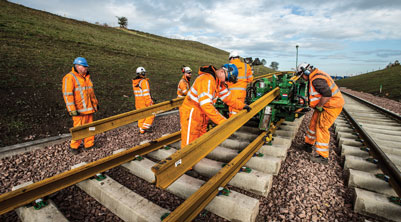 Borders Railway construction