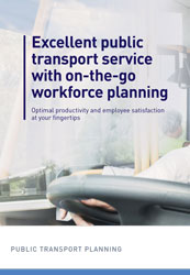 Brochure: Public transport planning & optimization