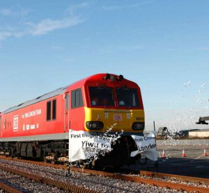 First direct China-UK freight train arrives in London