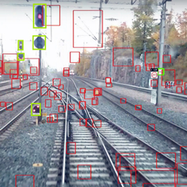 Computer vision based solution for sign detection