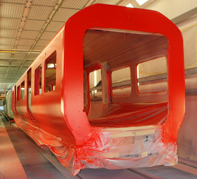 Construction begins on Class 707 Desiro City fleet for South West Trains