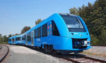 Alstom presents Coradia iLint zero-emission train at Innotrans