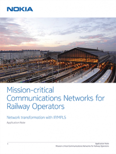 Cover-Mission-critical Communications Networks for Railway Operators