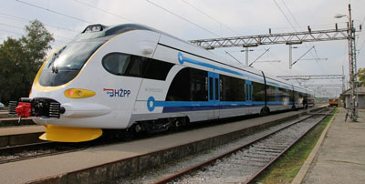 Croatian Railways takes delivery of 10 EMUs for Zagreb