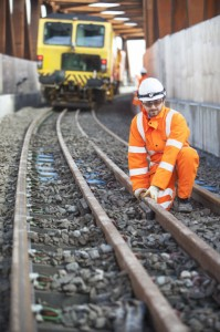 First Crossrail tracks laid