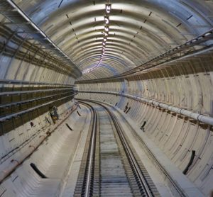 Permanent track installation is now complete on the Elizabeth line