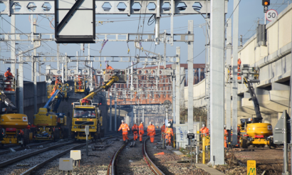 Vital Crossrail work delivered over Christmas period