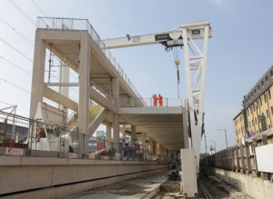 Custom House Crossrail station complete