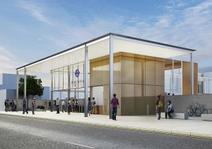 Designs revealed for new West Ealing Crossrail station