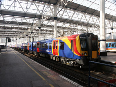 DfT to refranchise South West Trains