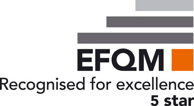 EFQM award Siemens five stars in Recognised for Excellence programme