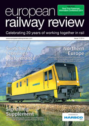 European Railway Review Issue 3 2014 - 180