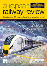 European Railway Review  Issue 5 2014