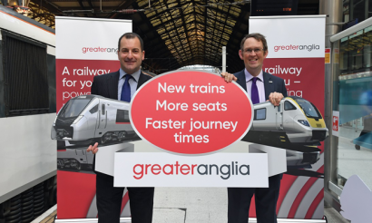 Abellio announces major improvements as nine year East Anglia franchise begins