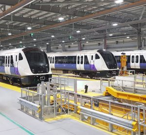 Five additional AVENTRA trains will operate on the Elizabeth line