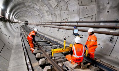 First Elizabeth line station-to-station journey marked as Crossrail reaches 75 percent complete