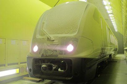 Elizabeth line trains undergo intense climatic testing