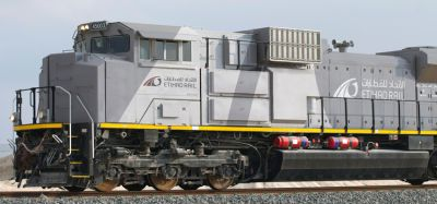 Etihad Rail orders 45 locomotives from Progress Rail Locomotive Inc.