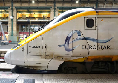 Eurostar passenger numbers continue to grow over summer months