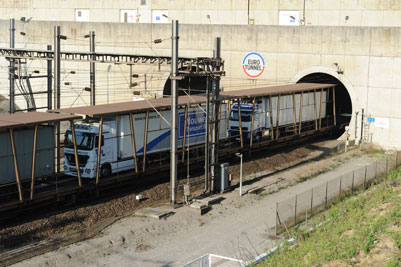 Eurotunnel announces record breaking year for Le Shuttle Freight