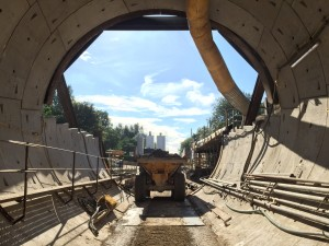 Poor ground conditions delay Farnworth Tunnel project