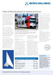 Whitepaper: Fiber reinforced plastics instead of aluminum
