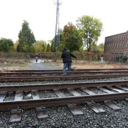 What is the Federal Railroad Administration doing to reduce railroad trespassing in North America?