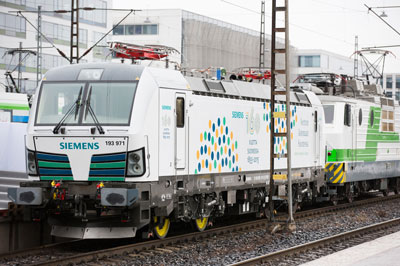 Finland welcomes Vectron for broad gauge rail system